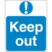Mandatory Safety Sign - Keep Out 096